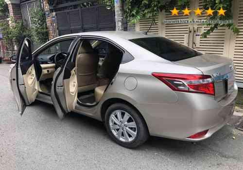 Thue xe tu lai Da Nang-Toyota Vios