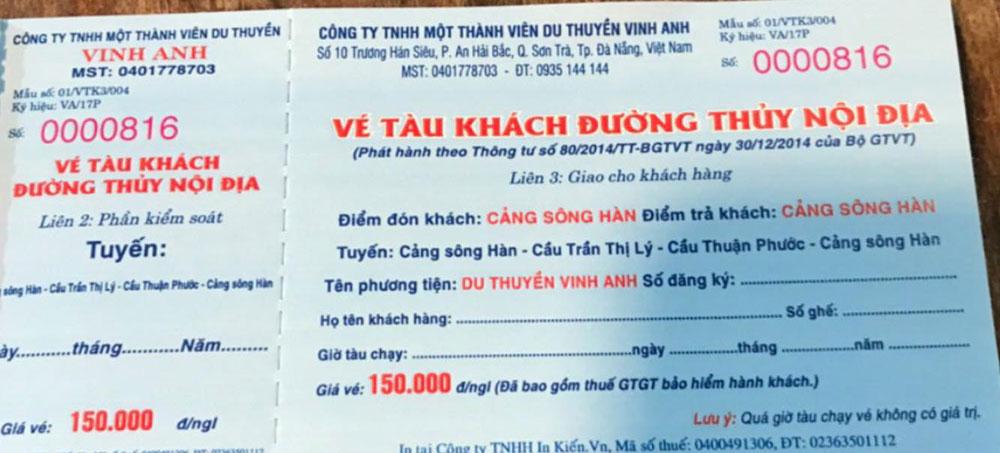 Ve du thuyen Song Han